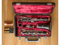 Yamaha 26II Bb Clarinet with case, excellent condition