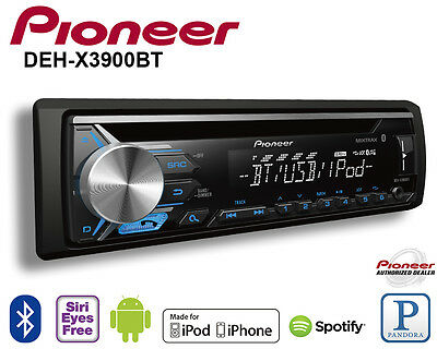 Pioneer Car Radio Stereo CD Player Pandora Android Iphone Mixtrax USB AUX