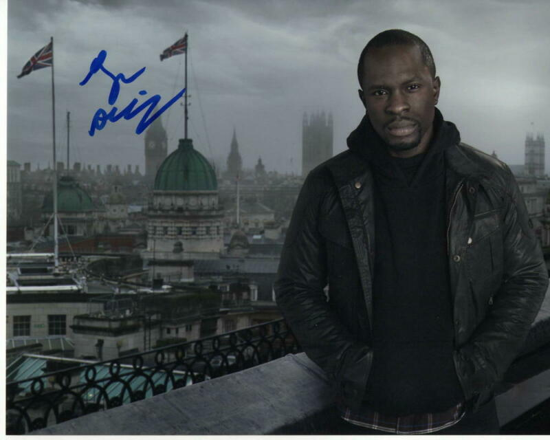 GBENGA AKINNAGBE - SIGNED AUTOGRAPHED 8x10 PHOTO - CHRIS PARTTLOW THE WIRE