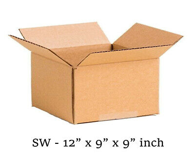 20 MOVING BOX Single Wall Cardboard 12x9x9