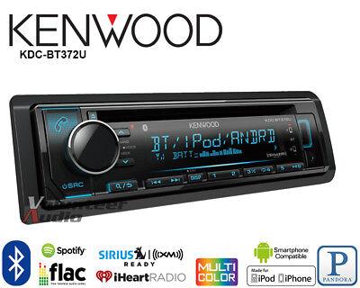 Kenwood KDC-BT372U Car Stereo Radio Bluetooth CD Pandora iHeart Radio