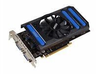 VIDEO CARD MSI N650TI-1GD5/OC ( GeForce GTX 650 Ti )