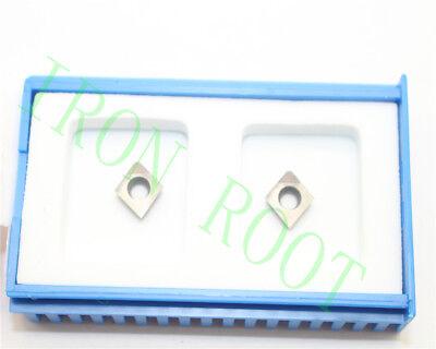 2 New Cbn Ccgt060208 Cbn Diamond Cnc Carbide Inserts High Quality