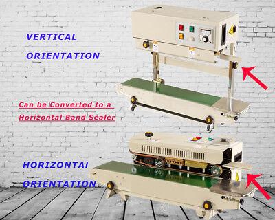 110V Auto Horizontal Continuous Band Horizontal Sealing Machine Vertical Frame
