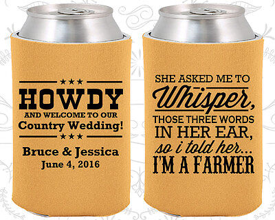 Wedding Favor Koozies Cheap Beer Can Koozie Ideas (545) Country Wedding Favors - Cheap Country Wedding Favors