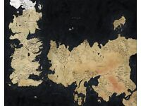Game Of Thrones - World Map / Westeros
