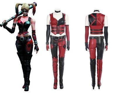 Batman Arkham City Harley Quinn Cosplay Costume](Harley Quinn Arkham City Cosplay)