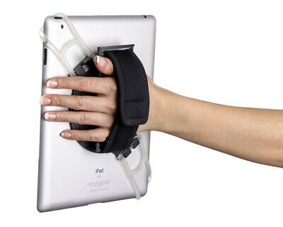 Aleratec Universal 2-in-1 Tablet Hand Strap Holder Stand for