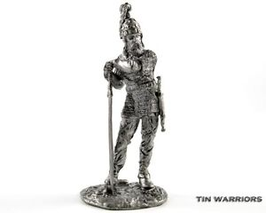 Anglo-Saxon-5-Century-Tin-toy-soldiers-54mm-miniature-statue-metal-sculpture