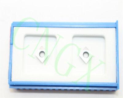 2pcs New Cbn Ccgt060204 Cbn Diamond Cnc Blade Insert High Quality