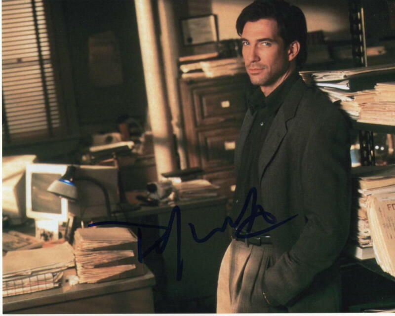 DYLAN MCDERMOTT SIGNED AUTOGRAPH 8X10 PHOTO - THE POLITICIAN STUD, THE PRACTICE