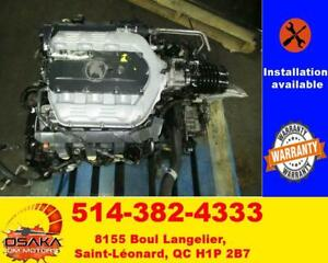 2009-2014 Acura TL Engine Motor 3.7L Automatic Transmission 2010 2014 Acura Tsx
