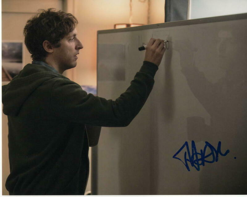 THOMAS MIDDLEDITCH SIGNED AUTOGRAPH 8X10 PHOTO - SILICON VALLEY, ZOMBIELAND