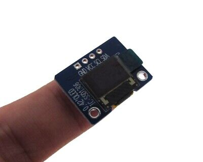 Hq 0.42 7040 Oled Graphic Display Module I2c Iic Lcd - Color White