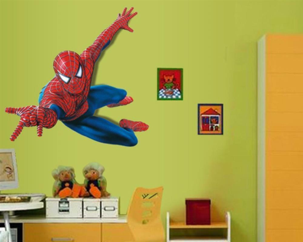Details Zu Wandtattoo Spiderman Wandaufkleber Xxl Kinderzimmer Superheld Deko Cool W028