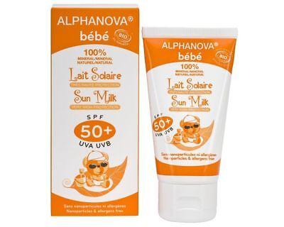 Milk Sun Baby Bio Spf 50   Alphanova Tube 50 Gr