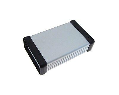 Aluminum Project Box Enclosure Diy 54x23x80mm - Silver