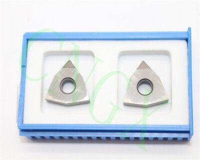 2pcs New Cbn Wnga080404 Cbn Diamond Cnc Blade Insert High Quality