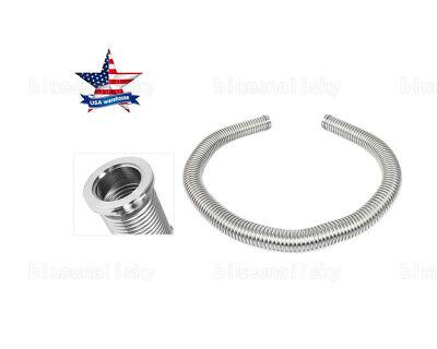 Us High Quality Bellows Hose Metal Kf-25 118.11 Inch Tubing L3m Vacuum Fitting