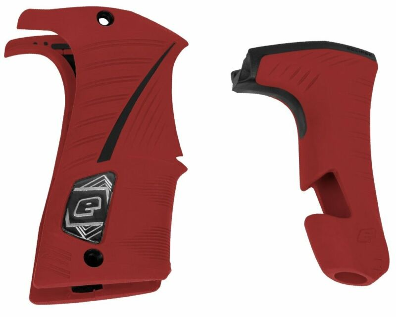 Planet Eclipse LV1.6 Grip Kit for LV Paintball Markers - Red