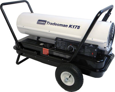 Lb White Tradesman K175 Heater 175000 Btuh Kerosene 1 Or 2 Fuel