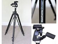 Manfrotto Tripod (475B) with manfrotto Head (329 rc4)