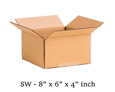 25 MOVING BOX Single Wall Cardboard 8x6x4