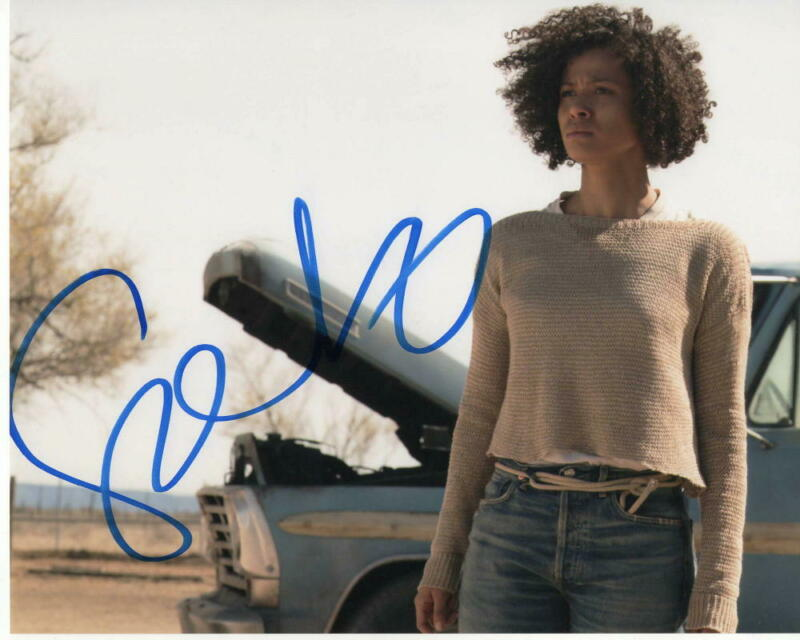 GUGU MBATHA-RAW SIGNED AUTOGRAPH 8X10 PHOTO - BEAUTIFUL, BLACK MIRROR DOCTOR WHO