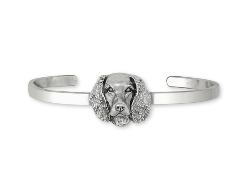 Springer Spaniel Bracelet Jewelry Sterling Silver Handmade Dog Bracelet SPS-CB