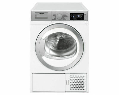 Smeg DHT81LUK White 8KG Heat Pump Condenser Tumble Dryer * 5 Year Warranty*