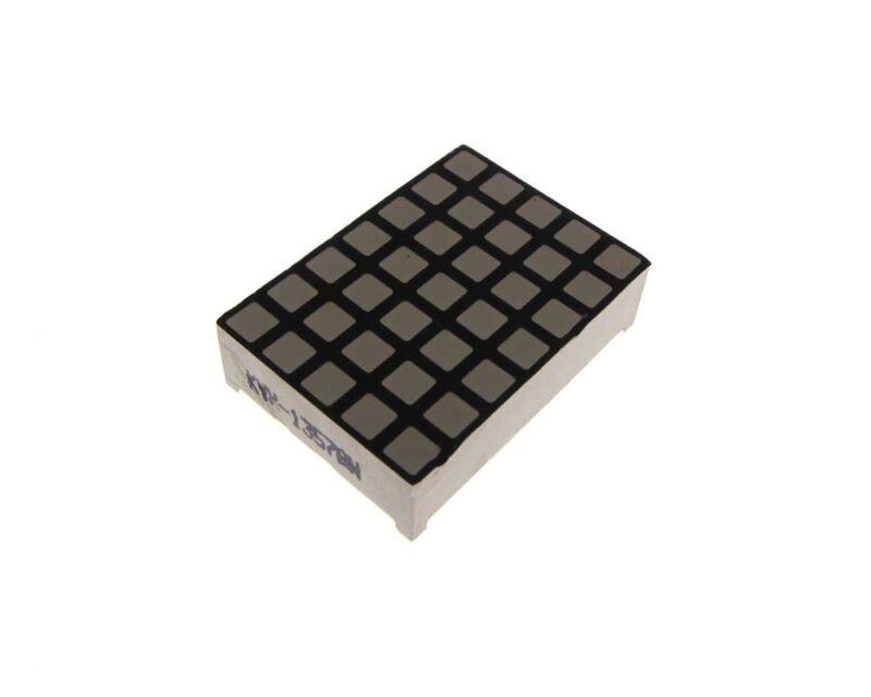 5x7 Matrix LED Display Square - White