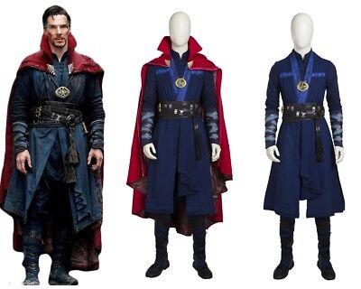 Top Grade Doctor Strange Stephen Strange Cosplay Costume Custom Made](Movie Grade Costumes)