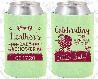 Baby Shower Koozies Koozie Ideas (90023) Ladybug, Arrival, Little - Ladybug Baby Shower Ideas