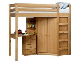 Rimini High Sleeper Single Bed