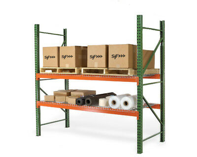 Pallet Racks - Teardrop Beams - 96l X 5h 7050 Lb. Capacity