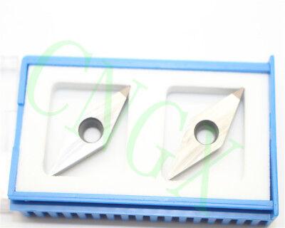 2pcs New Cbn Vcgt160404 Cbn Diamond Cnc Blade Insert High Quality