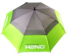 BRAND NEW SUN MOUNTAIN H2NO GOLF UMBRELLA