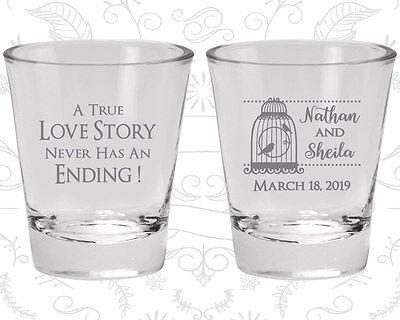 Wedding Favor Shot Glasses Shot Glass Favors (244) Fairy Tale Wedding Favors