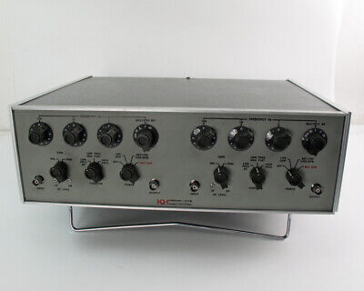 Krohn-hite 3323 Dual Channel Tunable Filter - 0.01hz To 99.9khz