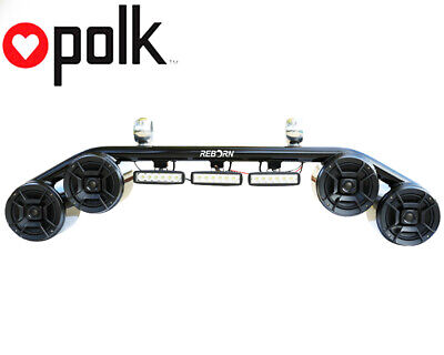 Wakeboard Tower Speaker Light Combo Black Polk DB652 300Wat Marine Speakers, used for sale  Shipping to Canada