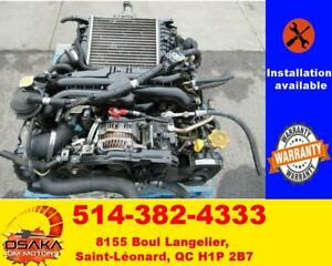 JDM SUBARU LEGACY GT EJ20X 2.0L AVCS TURBO ENGINE MOTOR EJ20 ECU VF38 TwinScrollBuy Jdm Inc .    low Prices and Quality
