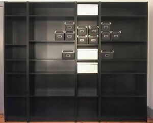 MOVING HOUSE SALE -- IKEA BILLY BOOKCASE and IKEA KASSETT Boxes Coburg Moreland Area Preview