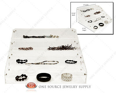 Jewelry Make-up Organizer Acrylic Organizer Display Showcase Countertop Display
