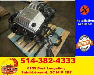 Moteur 3.0L avec installation Toyota Camry 1999-2006