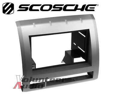 Scosche TA2053B Gray Double Din Radio Install Dash Kit for 05-08 Toyota Tacoma