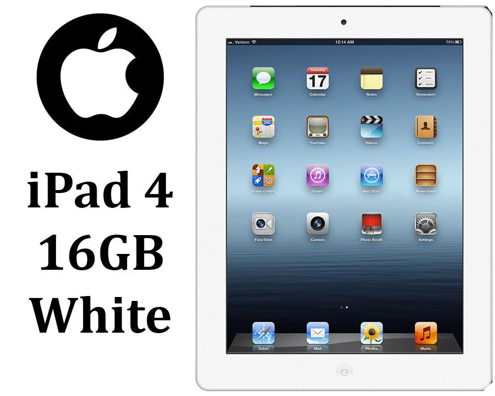 "Apple MD513LL/A 9.7"" iPad with Retina Display Wi-Fi - White"