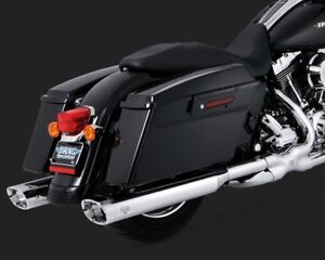 Vance and Hines monster oval slip ons