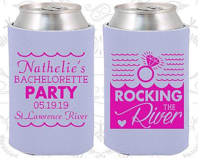 Bachelorette Party Koozies Koozie Favors (60033) Rockin The River