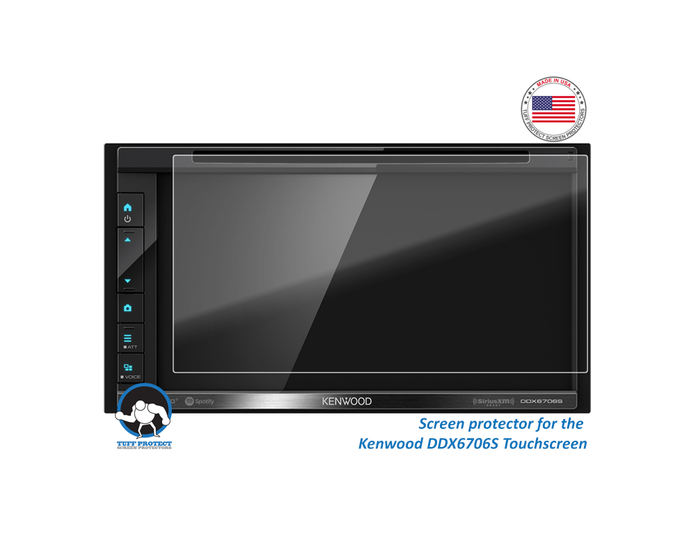 Anti-glare Screen Protectors For Kenwood DDX6706S  - Tuff Pr