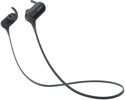 Sony MDR-XB50BS EXTRA BASSSports Bluetooth Headphones Black MDRXB50BS/S #82 NEW
